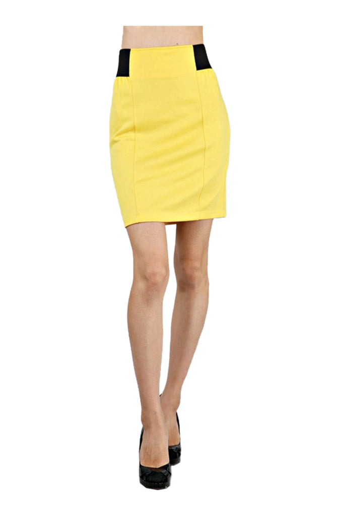 High Waisted Bodycon Pencil Skirt - BodiLove | 30% Off First Order  - 16