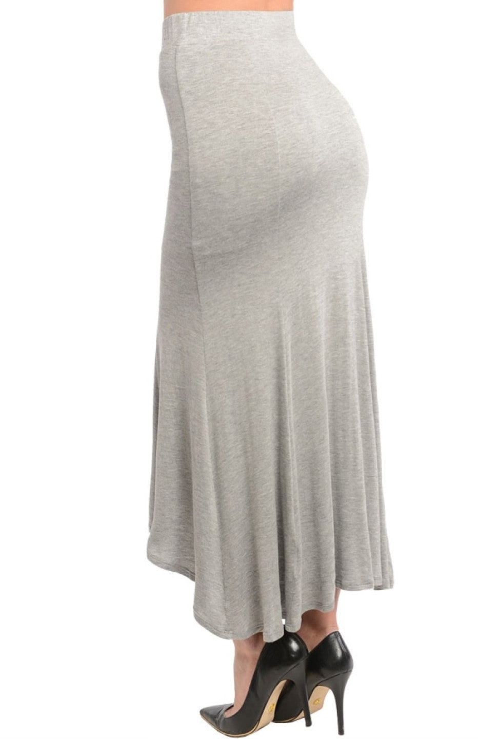Knit High Low Flared Skirt – BodiLove Fashion Store