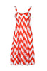 Two-Tone Chevron Prints Easy-Fit Midi/Mini Summer Holiday Resort Beach Dress - BodiLove | 30% Off First Order  - 10