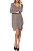 3/4 Sleeve A-Line Tunic Dress - BodiLove | 30% Off First Order  - 6