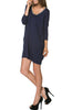 3/4 Sleeve A-Line Tunic Dress - BodiLove | 30% Off First Order  - 11