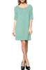 Short Sleeve A-Line Tunic Dress | 30% Off First Order | Mint