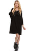 3/4 Bell Sleeve Oversize Tunic Dress - BodiLove | 30% Off First Order  - 9