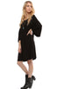 3/4 Bell Sleeve Oversize Tunic Dress - BodiLove | 30% Off First Order  - 11
