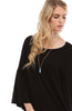 3/4 Bell Sleeve Oversize Tunic Dress - BodiLove | 30% Off First Order  - 12