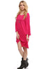 3/4 Bell Sleeve Oversize Tunic Dress - BodiLove | 30% Off First Order  - 27