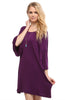 3/4 Bell Sleeve Oversize Tunic Dress - BodiLove | 30% Off First Order  - 31