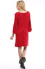 3/4 Bell Sleeve Oversize Tunic Dress - BodiLove | 30% Off First Order  - 38