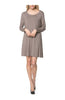 Oversized Long Sleeve Tunic Dress - BodiLove | 30% Off First Order - 33