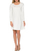 Oversized Long Sleeve Tunic Dress - BodiLove | 30% Off First Order - 35