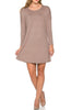 Oversized Long Sleeve Tunic Dress - BodiLove | 30% Off First Order - 21