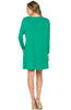 Oversized Long Sleeve Tunic Dress - BodiLove | 30% Off First Order - 12