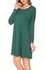 Oversized Long Sleeve Tunic Dress - BodiLove | 30% Off First Order - 8