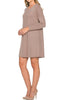 Oversized Long Sleeve Tunic Dress - BodiLove | 30% Off First Order - 24