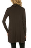 Long Sleeve Cowl Neck A-Line Tunic Dress - BodiLove | 30% Off First Order - 6