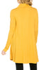 Long Sleeve Cowl Neck A-Line Tunic Dress - BodiLove | 30% Off First Order - 22