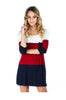 3/4 Sleeve Color Blocked Oversized Tunic - BodiLove | 30% Off First Order  - 4