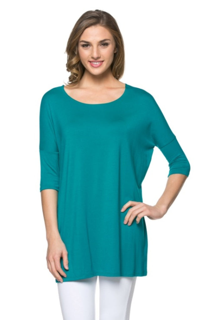 Oversized Half Sleeve Tunic Dress | 30% Off First Order | Jade