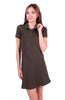 Trendy Short Sleeve Collared Polo Dress - BodiLove | 30% Off First Order - 8