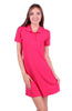 Trendy Short Sleeve Collared Polo Dress - BodiLove | 30% Off First Order - 3