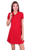 Trendy Short Sleeve Collared Polo Dress - BodiLove | 30% Off First Order - 10