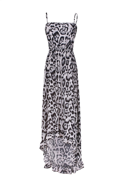 Animal Prints Sleeveless Hi-Low Summer Beach Dress - BodiLove | 30% Off First Order  - 1