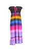 Multi-Colored Rainbow Design 3-In-1 Summer Beach Tube Dress/Cover-up - BodiLove | 30% Off First Order  - 10