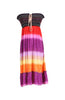 Multi-Colored Rainbow Design 3-In-1 Summer Beach Tube Dress/Cover-up - BodiLove | 30% Off First Order  - 22