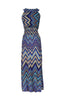 Exotic Chevron Prints Maxi Beach Dress - BodiLove | 30% Off First Order  - 2