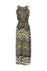 Exotic Chevron Prints Maxi Beach Dress - BodiLove | 30% Off First Order  - 15
