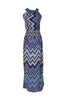 Exotic Chevron Prints Maxi Beach Dress - BodiLove | 30% Off First Order  - 16