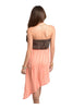 Strapless Spotted Asymmetrical Hem Dress - BodiLove | 30% Off First Order  - 4