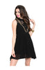 Sleeveless Chiffon Button Down Blouse Dress - BodiLove | 30% Off First Order  - 1