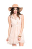 Sleeveless Chiffon Button Down Blouse Dress - BodiLove | 30% Off First Order  - 4