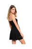 Strapless Fit & Flare Dress W/ Cutout Crochet Trim - BodiLove | 30% Off First Order  - 2