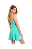 Strapless Fit & Flare Dress W/ Cutout Crochet Trim - BodiLove | 30% Off First Order  - 4
