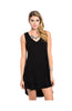Sleeveless Layered A-Line Jersey Knit Tunic - BodiLove | 30% Off First Order  - 1