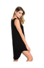 Sleeveless Layered A-Line Jersey Knit Tunic - BodiLove | 30% Off First Order  - 9