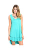 Sleeveless Layered A-Line Jersey Knit Tunic - BodiLove | 30% Off First Order  - 2