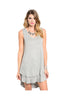 Sleeveless Layered A-Line Jersey Knit Tunic - BodiLove | 30% Off First Order  - 3