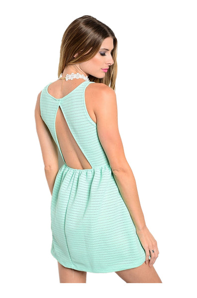 Textured fit amp flare cocktail dress bodilove fashion store