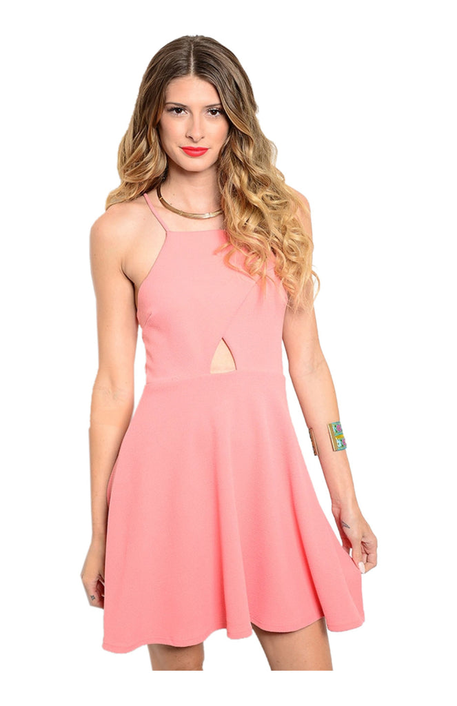 Spaghetti Strap Fit & Flare Cocktail Dress - BodiLove | 30% Off First Order  - 2