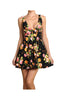 Sleeveless Floral Print Fit & Flare Cocktail Dress | 30% Off First Order | Black1