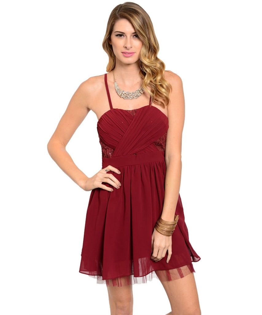 Spaghetti Strap Babydoll Cocktail Dress - BodiLove | 30% Off First Order  - 3