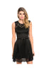 Sleeveless Lace Trimmed Cocktail Dress - BodiLove | 30% Off First Order  - 5