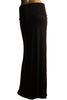 Solid Color Floor Length Maxi Skirt - BodiLove | 30% Off First Order  - 3