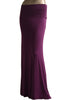 Solid Color Floor Length Maxi Skirt - BodiLove | 30% Off First Order  - 4