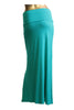Solid Color Floor Length Maxi Skirt - BodiLove | 30% Off First Order  - 11