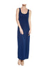 Sleeveless Racerback Maxi Dress | 30% Off First Order | Navy