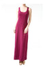 Sleeveless Racerback Maxi Dress | 30% Off First Order | Burgundy